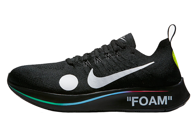 002f87376 The Off-White x Nike Zoom Fly Mercurial Flyknit Black is scheduled to  release on June 14th via the retailers listed. Make sure to hit the bell  icon on this ...
