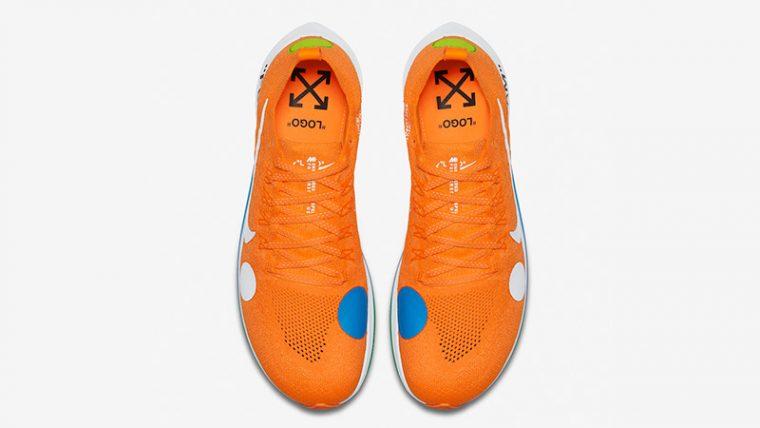aca5a7e35248 Off-White x Nike Zoom Fly Mercurial Flyknit Orange