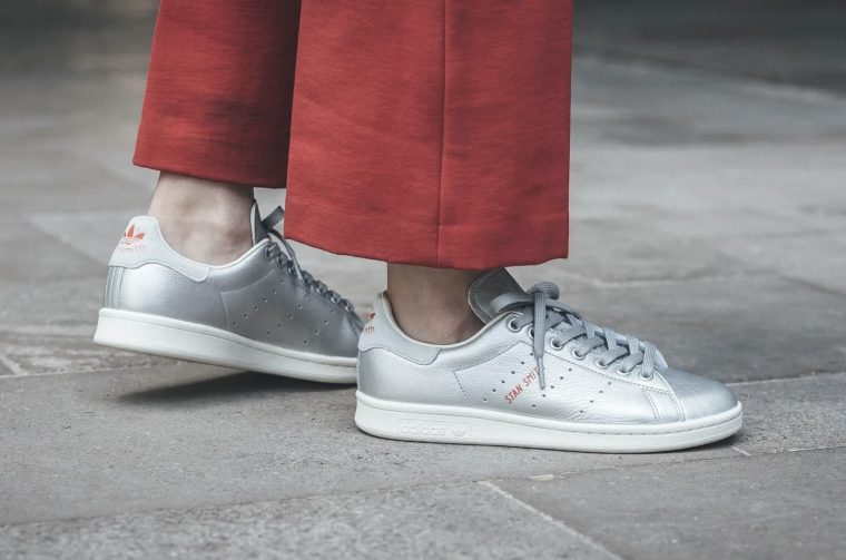 Switch Up Your Rotation With These Metallic Silver adidas Stan Smiths thumbnail image
