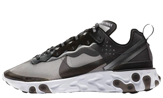Nike React Element 87 Black White | AQ1090-001