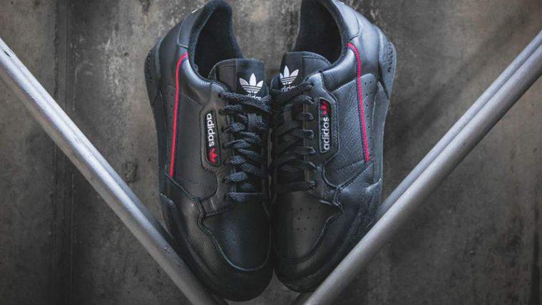 adidas Continental 80 Rascal Black | B41672 thumbnail image