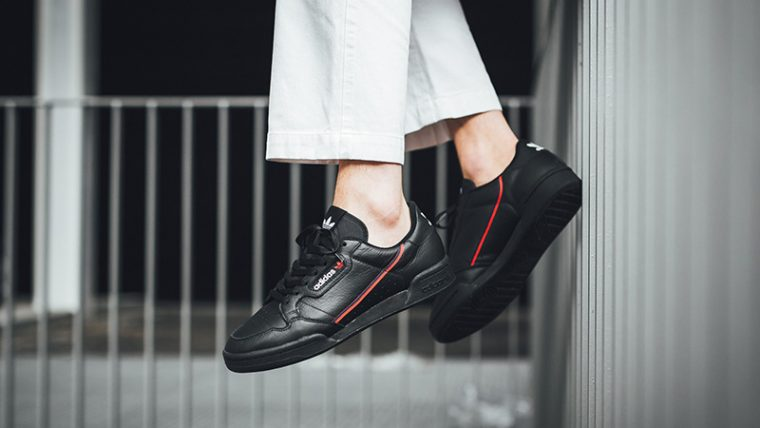 more photos e719a 41f1d adidas Continental 80 Rascal Black  B41672
