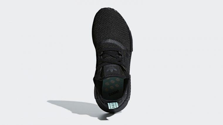 adidas NMD R1 Black Mint Womens  83c6d94b7