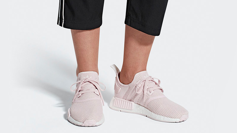 separation shoes 301aa 29a99 adidas NMD R1 Pink Orchid Womens | B37652