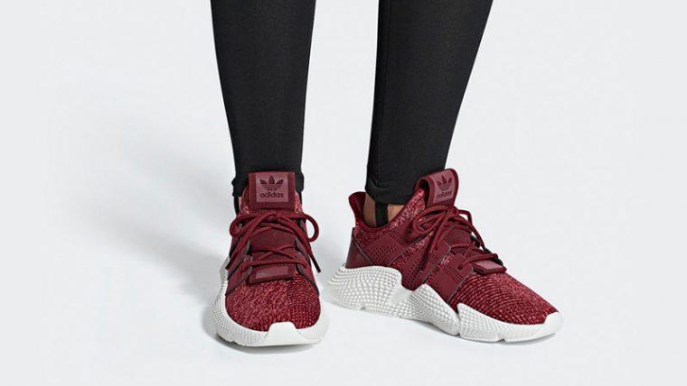 adidas Prophere Maroon Womens B37635 04 thumbnail image