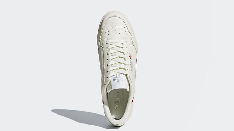 best loved fa65f 481b0 adidas Continental 80 Rascal Cream White   B41680