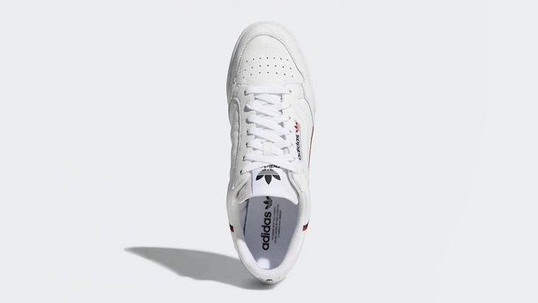 big sale 020c5 197ac adidas Continental 80 Rascal White  B41674