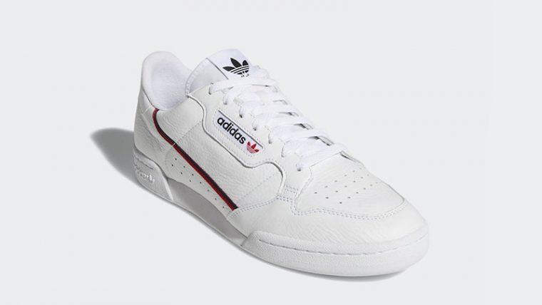 adidas Continental 80 Rascal White | B41674 thumbnail image