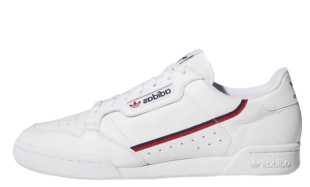 big sale 020c5 197ac adidas Continental 80 Rascal White  B41674