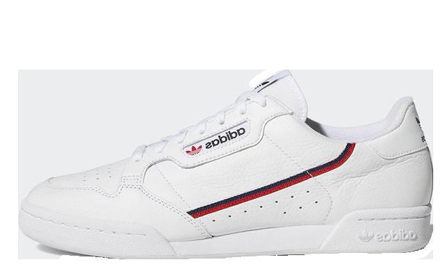 adidas Continental 80 Rascal White | B41674
