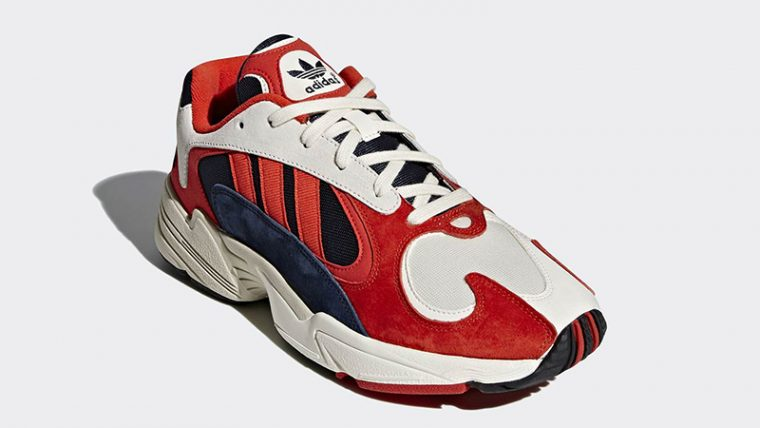 buy popular f30c9 07759 adidas Yung 1 Red Blue   B37615