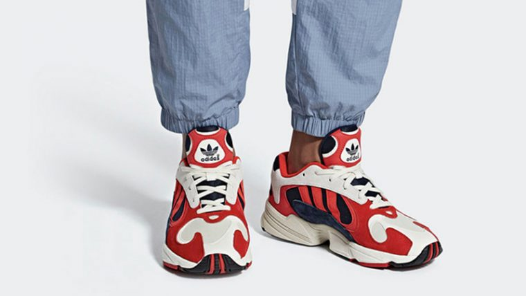 adidas Yung 1 Red Blue  cdfe789cb