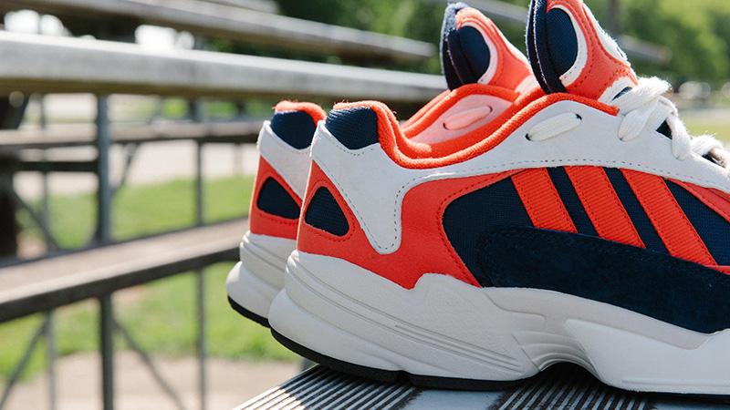 buy popular f2427 939dd adidas Yung 1 Red Blue   B37615
