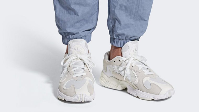 adidas yung 1 white womens size 4 off
