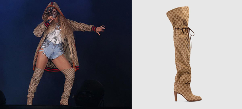 091f55b0d469 Steal Beyoncé s Style With Sky High Over-The-Knee Boots