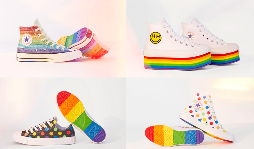 1dcdd249ac90 Miley Cyrus Teams Up With Converse To Celebrate Pride 2018