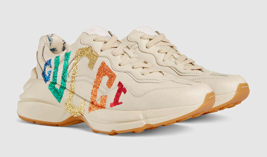 96738b7231e Gucci s Rhyton Sneaker Is Somewhere Over The Rainbow...