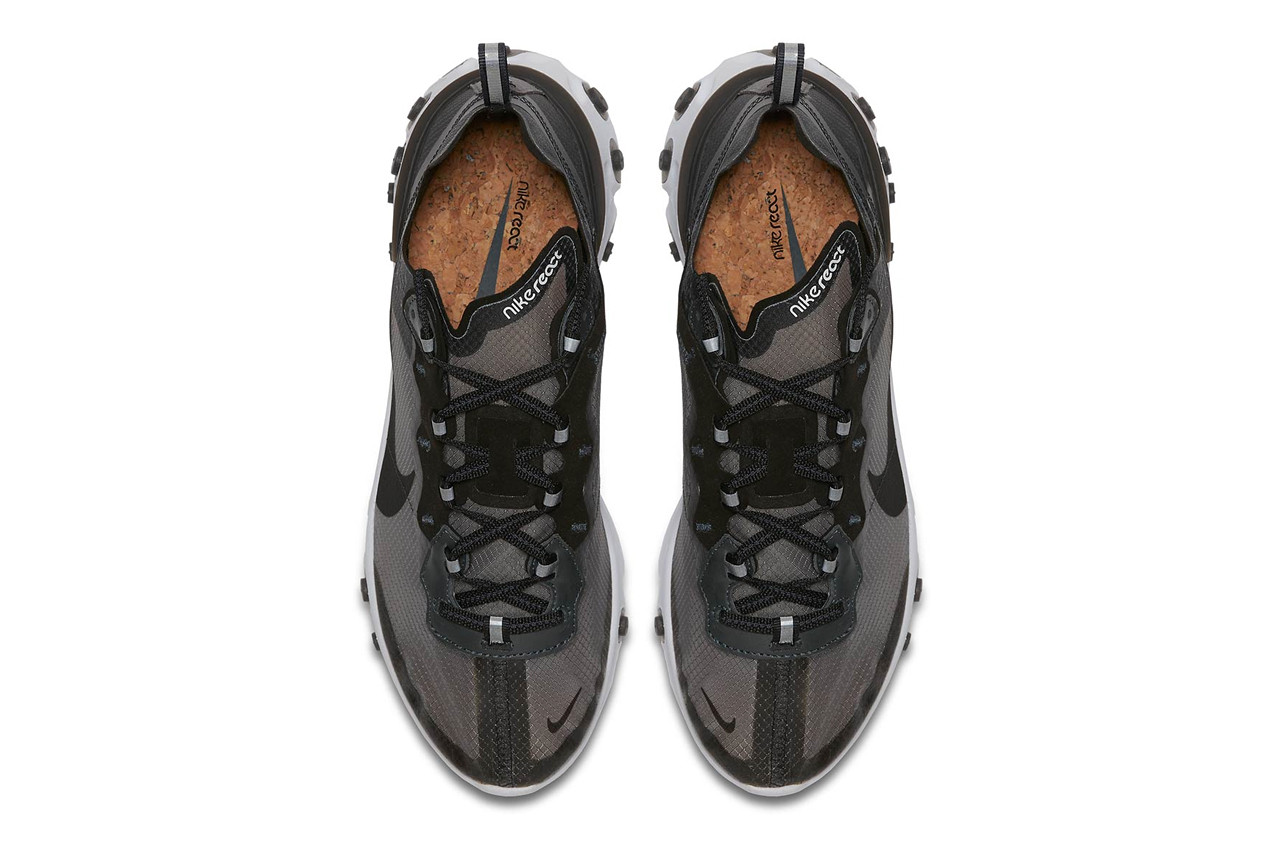 Nike React Element 87 Black White | AQ1090-001