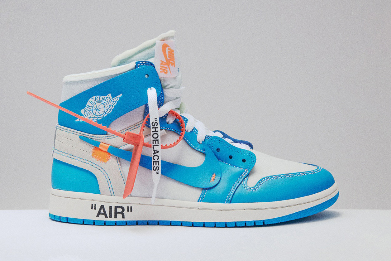 """cheap for discount 4afea 19cbf The Off-White x Air Jordan 1 """"UNC"""" Is Re-Releasing This Month"""