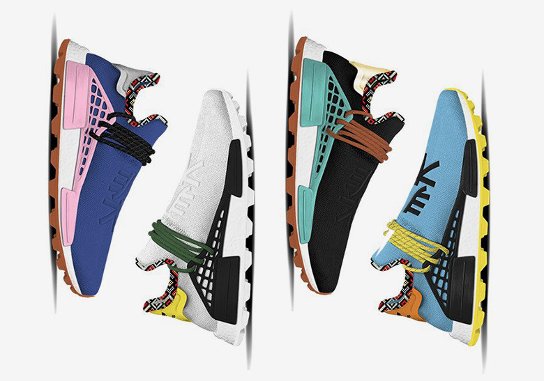Pharrell Williams x adidas Are Back With The Hu NMD