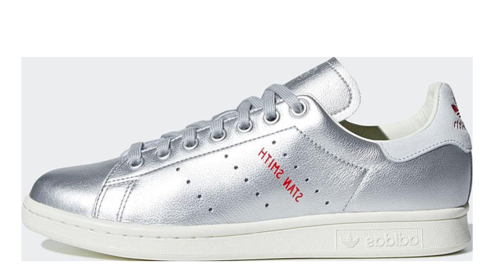 adidas Originals Stan Smith Silver Metallic | B41750