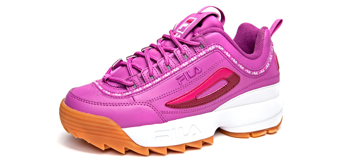 624445ef13 ... FILA Are Set To Launch An Exclusive Range Of Pink Sneakers At Champs  Sports