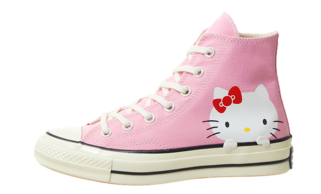 Converse All Star Hi 70s Pink Hello Kitty