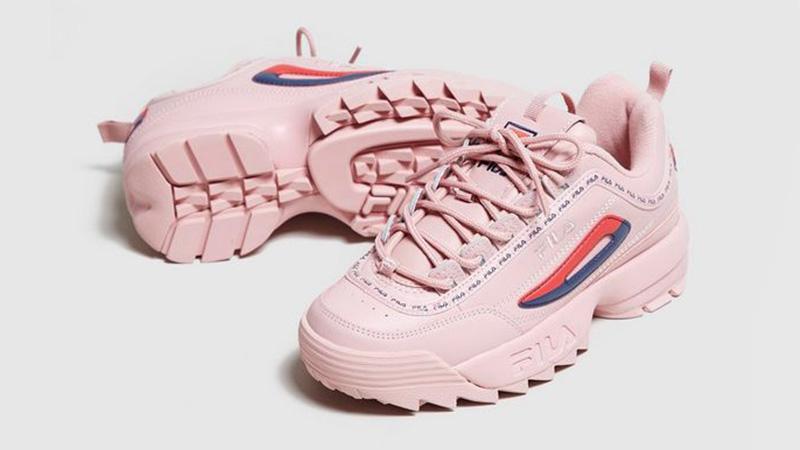 Fila Disruptor II Pink Womens 5FM00079682 03