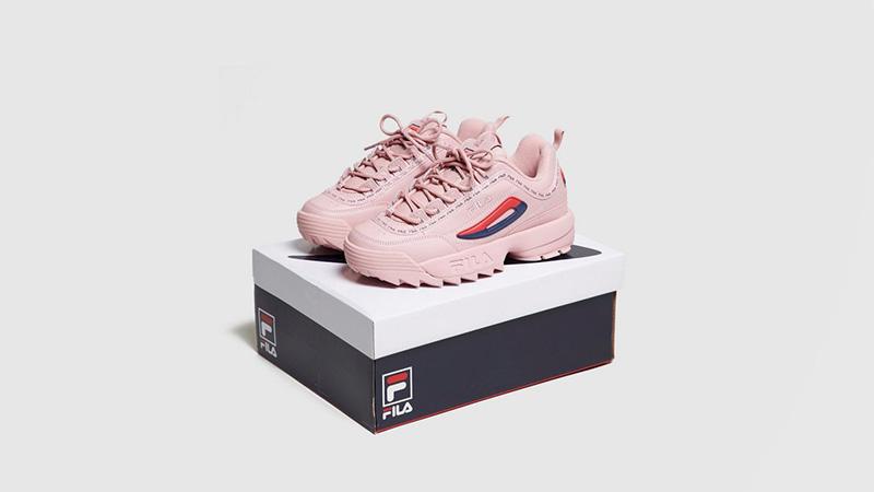 Fila Disruptor II Pink Womens 5FM00079682 04