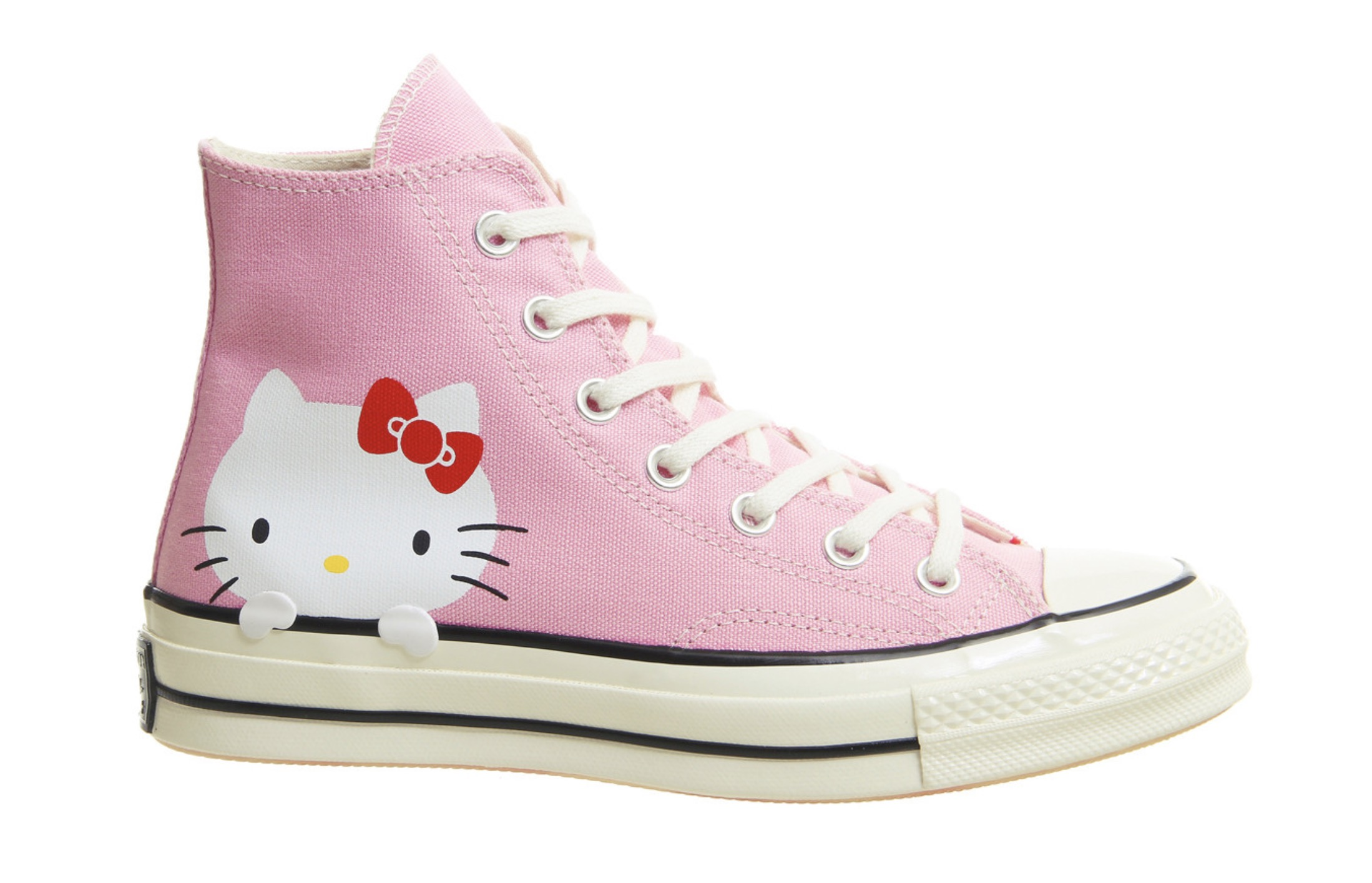 This Hello Kitty x Converse Chuck Taylor Is The Cutest Collaboration ... 137ae3356