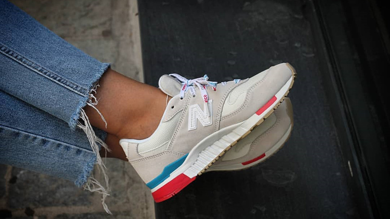detailed look e1184 048d5 New Balance 840 White Multi Womens WL840RTS 08