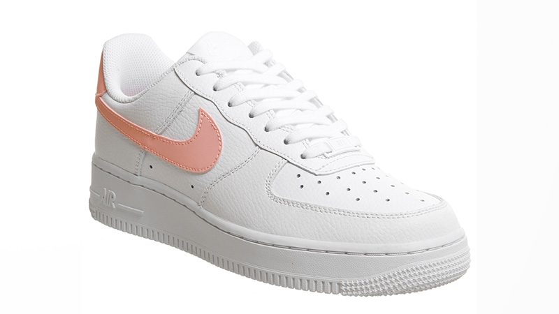 nike WMNS AIR FORCE 1 '07 WHITEORACLE PINK WHITE bei