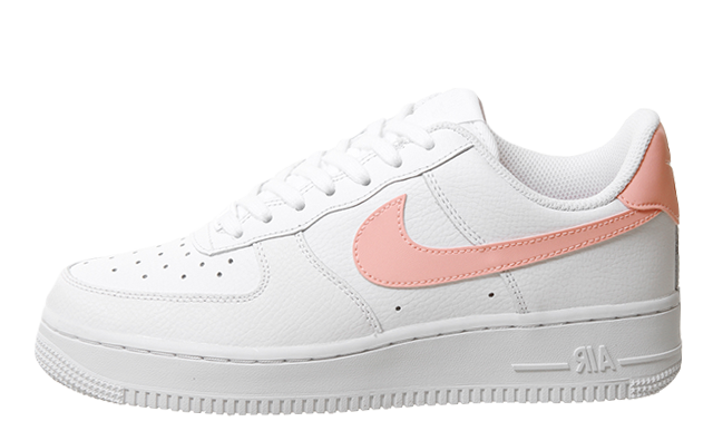Nike Air Force 1 07 White Oracle Pink White
