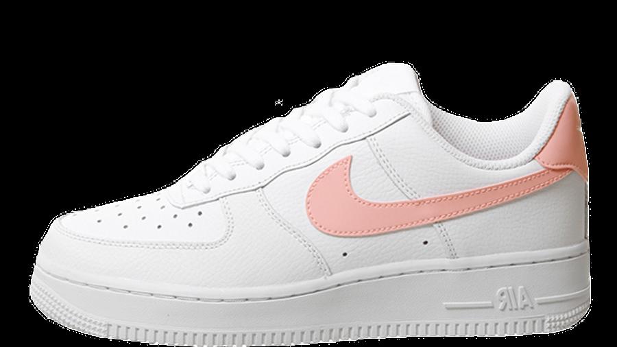 maorí Me sorprendió Intrusión  Nike Air Force 1 07 White Oracle Pink White | Where To Buy | AH0287-102 |  The Sole Womens