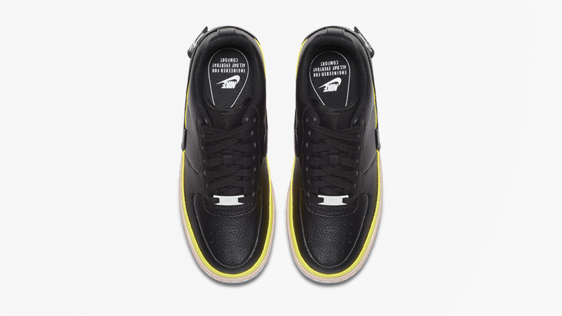 Nike Air Force 1 Jester Black Yellow AT2497-001 02