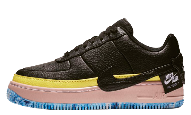Nike Air Force 1 Jester Black Yellow AT2497-001