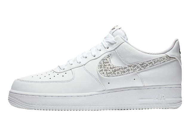 Nike Air Force 1 LV8 White Just Do it Pack BQ5361-100