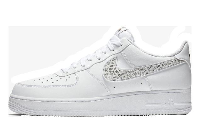 Nike Air Force 1 LV8 White Just Do it Pack BQ5361 100  BQ5361 100
