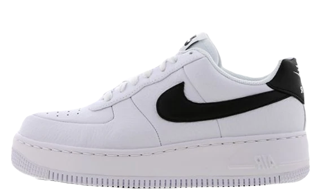 air force 1 upstep noir