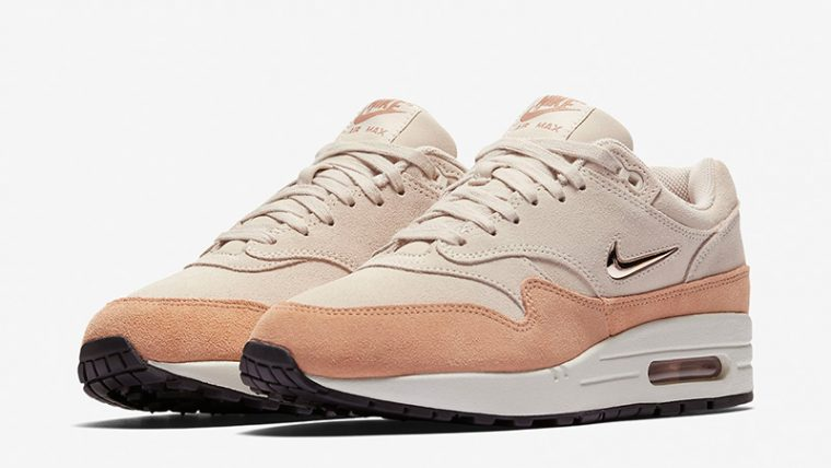 Nike Air Max 1 Premium SC Salmon Womens AA0512-800 03 thumbnail image