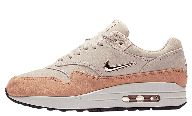d29372a84b2bd Nike Air Max 1 Barely Rose Womens | 319986-607 | The Sole Womens