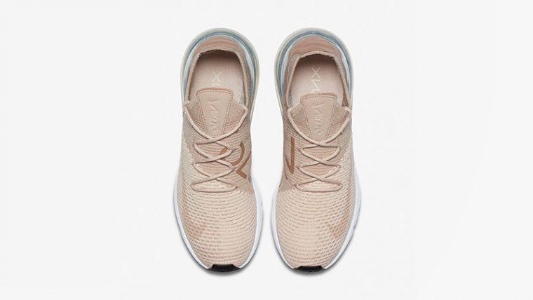 Nike Air Max 270 Flyknit Guava Ice Womens AH6803-801 02 thumbnail image