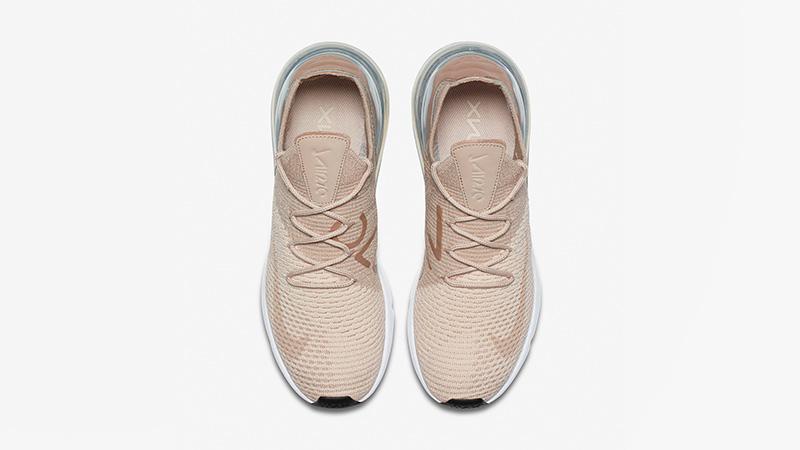 Nike Air Max 270 Flyknit Guava Ice Womens AH6803-801 02