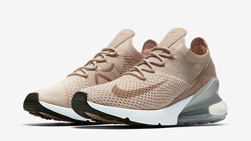 Nike Air Max 270 Flyknit Guava Ice Womens | AH6803 801