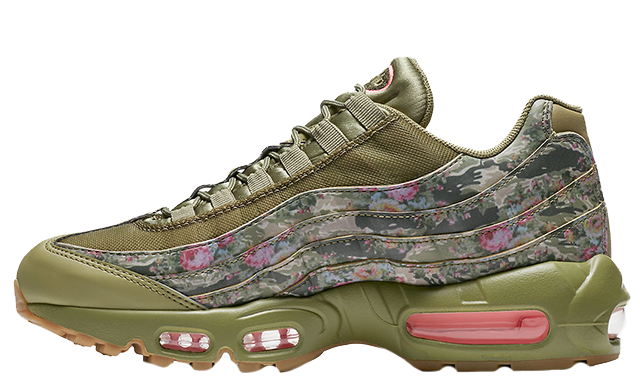 a4676db556 The Nike Air Max 95 Floral Camo is available now via our list of stockists.  Make sure to cop your pair quickly because this sneaker won't be sticking  around ...