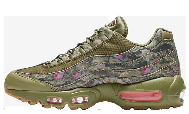 Nike Air Max 95 Floral Camo AQ6385-200