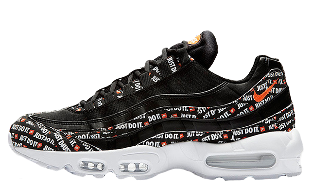 new york aae23 b1c9f Nike Air Max 95 Just Do It Black | AV6246-001