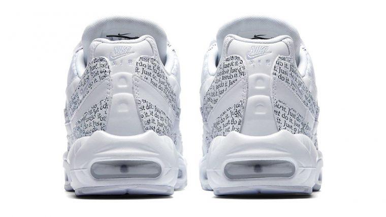promo code 5e329 16d58 Nike Air Max 95 Just Do It Pack White Womens | AV6246-100
