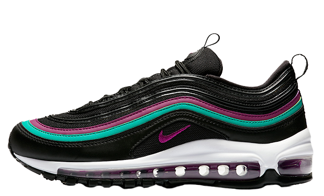 d8a8e94e300e Nike Air Max 97 Black Grape Womens