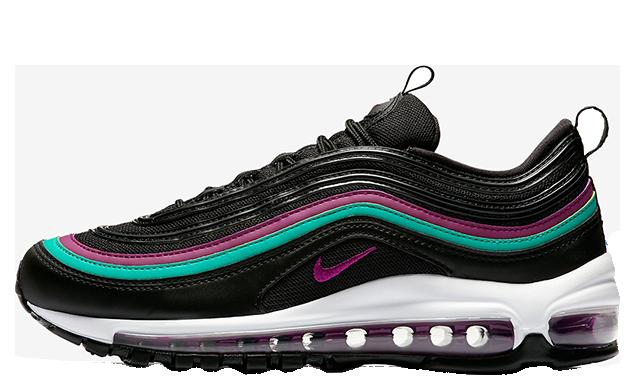 Nike Air Max 97 Black Grape Womens 921733-008